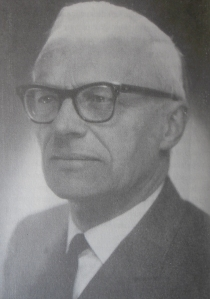 Gerrit Cornelis Berkouwer (1903-1996), professor of Systematic Theology at the Free University (VU) in Amsterdam.